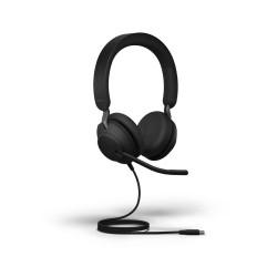 Jabra Evolve2 40, USB-C, UC Stereo [24089-989-899] - Проводная гарнитура, UC