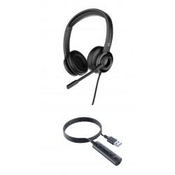 Accutone UMB210 3.5 with USB - Гарнитура для ноутбука и смартфона