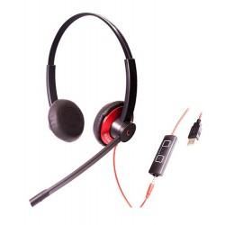 Addasound Epic 502 - USB гарнитура для офиса и удаленной работы, USB + Jack 3,5мм, Dual
