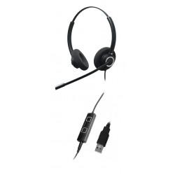Addasound Epic 842 - Профессиональная Stereo гарнитура USB для Call center и офиса