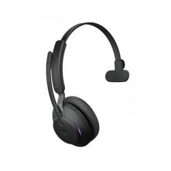 Jabra Evolve2 65, Link380a UC Mono Black [26599-889-999] - Беспроводная моно гарнитура, UC