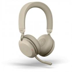 Jabra Evolve2 75 [27599-999-998] - Bluetooth гарнитура, USB-A MS Teams (бежевая)