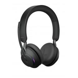 Jabra Evolve2 65, Link380a UC Stereo Black [26599-989-999] - Беспроводная стерео гарнитура, UC, USB-A