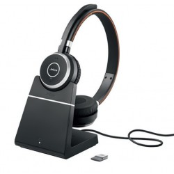 Jabra Evolve 65 Charging Stand, Link360, Stereo UC