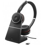 Jabra Evolve 75 Stereo MS, Charging stand & Link 370