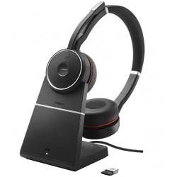 Jabra Evolve 75 Stereo UC, Charging stand & Link 370
