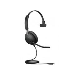 Jabra Evolve2 40, USB-A, UC Mono [24089-889-999] - Проводная гарнитура, UC