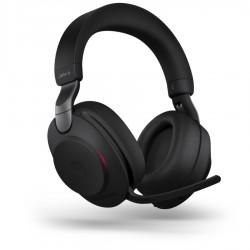 Jabra Evolve2 85, Link380a Stereo Black [28599-999-999] - Беспроводная стерео гарнитура, MS, USB-A
