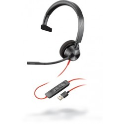 Poly Blackwire 3310 Microsoft USB-A [212703-01] - Проводная гарнитура UC (Plantronics)