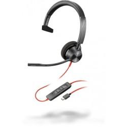 Poly Blackwire 3310 Microsoft USB-C [214011-01] - Проводная гарнитура UC (Plantronics)