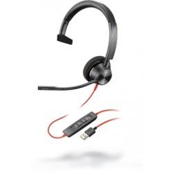 Poly Blackwire 3310 USB-A [213928-01] - Проводная гарнитура UC (Plantronics)