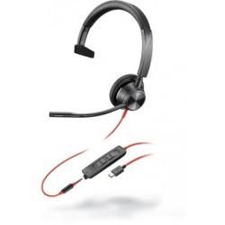 Poly Blackwire 3315 USB-C [213937-01] - Проводная гарнитура UC (Plantronics)