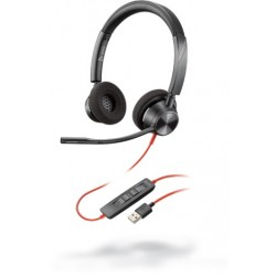 Poly Blackwire 3320 Microsoft USB-A [214012-01] - Проводная гарнитура UC (Plantronics)