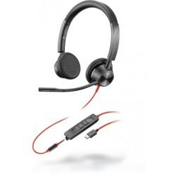Poly Blackwire 3325 USB-C [213939-01] - Проводная гарнитура UC (Plantronics)