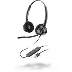 Poly EncorePro EP320 USB-A (Plantronics) [214570-01] - Профессиональная телефонная гарнитура (стерео, USB тип A)