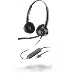 Poly EncorePro EP320 USB-C (Plantronics) [214571-01] - Профессиональная телефонная гарнитура (стерео, USB тип C)