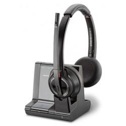 Poly Savi 8220-M Office [207326-01] - Беспроводная гарнитура, стерео, Microsoft (Plantronics)