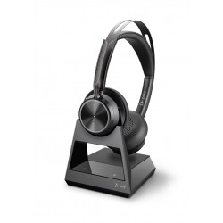 Poly VOYAGER FOCUS 2 OFFICE [213729-01] - Bluetooth гарнитура, stereo, для офиса, USB-A (Plantronics)