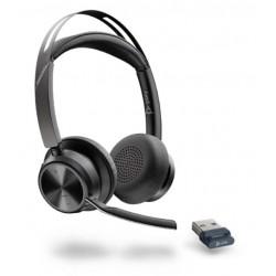 Poly VOYAGER FOCUS 2 USB-C [214432-01] - Bluetooth гарнитура, stereo, USB-C (Plantronics)